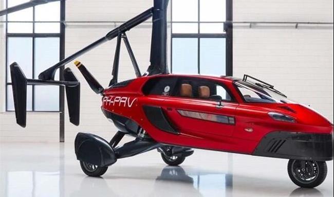 اولین خودروی پرنده در جهان مجوز پرواز گرفت