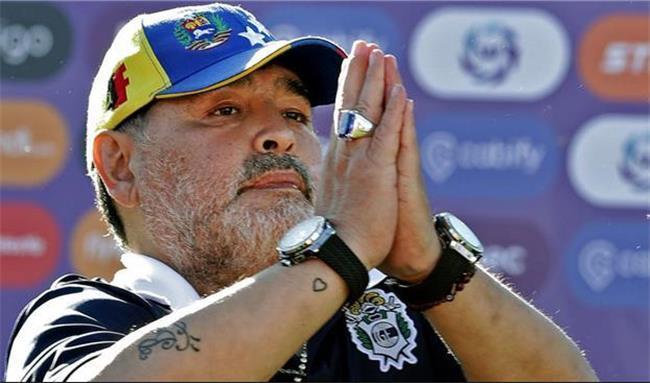 مارادونا اسطوره فوتبال درگذشت