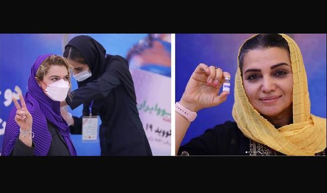 کدام هنرمندان داوطلب تزریق واکسن ایرانی کرونا شدند؟