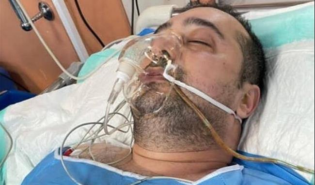 آخرین وضعیت سپند امیرسلیمانی بعد از عمل جراحی