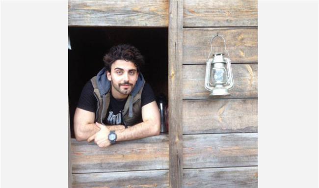 محمد صادقی بازیگر نقش پیمان  در سریال «افرا»