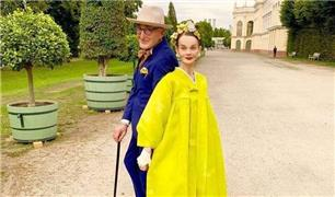 خوش پوش ترین زوج سالمند دنیا در لباس هایی جذاب و منحصر به فرد + تصاویر