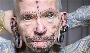 مرد شیطانی  رکورددار گینس شد / 516 جراحی برای ترسناک شدن! + فیلم