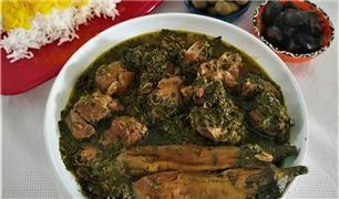 طرز تهیه خورش نازخاتون یک غذای خوشمزه گیلانی