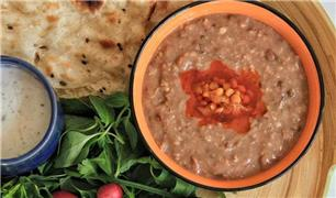 غذاهای مخصوص افطار /  شله مشهدی آشی که باید حتما خورد + طرز تهیه