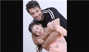 بغض بنیامین بهادری در لایو اینستاگرام با دخترش بارانا + فیلم