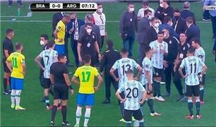 پلیس بازیکنان تیم آرژانتین را دستگیر کرد