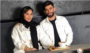 اولین زن و شوهر ایرانی در فوتبال اروپا توپ می زنند