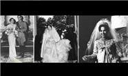 لباس عروس همسران محمدرضا پهلوی / طراحی لباس عروسی فوزیه  ثریا و فرح دیبا چگونه بود؟