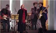 همخوانی شبنم مقدمی با گروه موسیقی بمرانی در همرفیق + فیلم