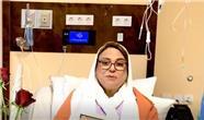 آخرین وضعیت گوهر خیراندیش در بیمارستان / واکنش خانم بازیگر به فوت دو بازیکن تیم ملی + فیلم
