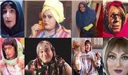 کدام  بازیگران مرد سینمای ایران در نقش زن ظاهر شدند؟ + تصاویر گریم زنانه 21  بازیگر مرد
