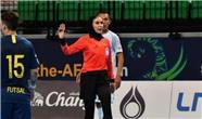 داوری یک زن ایرانی در مسابقات جام جهانی مردان