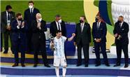 تصاویر شادی لیونل مسی کاپیتان تیم آرژانتین بعد از قهرمانی در کوپاآمریکا